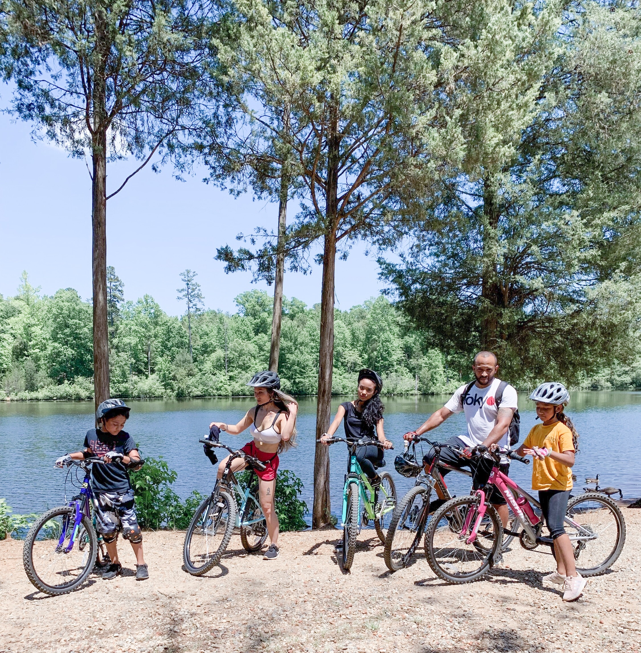 50 free things to do this summer in charlotte, bike trails in Charlotte,