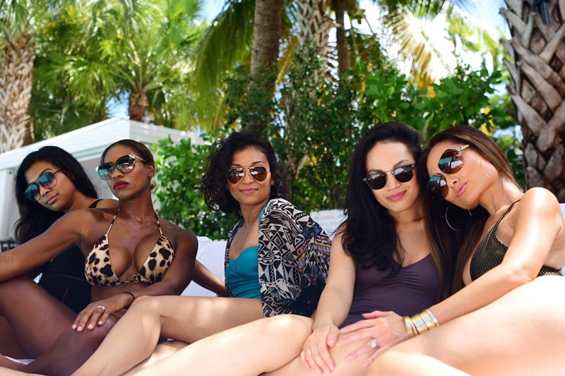 SLS Hotel south beach, girls getaway, miami, hot moms in miami