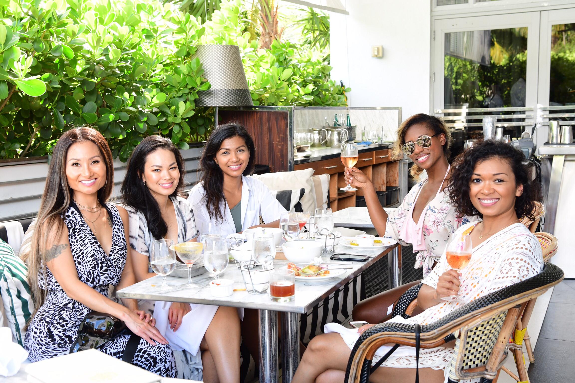 Girls Getaway In Miami, SLS Hotel South Beach