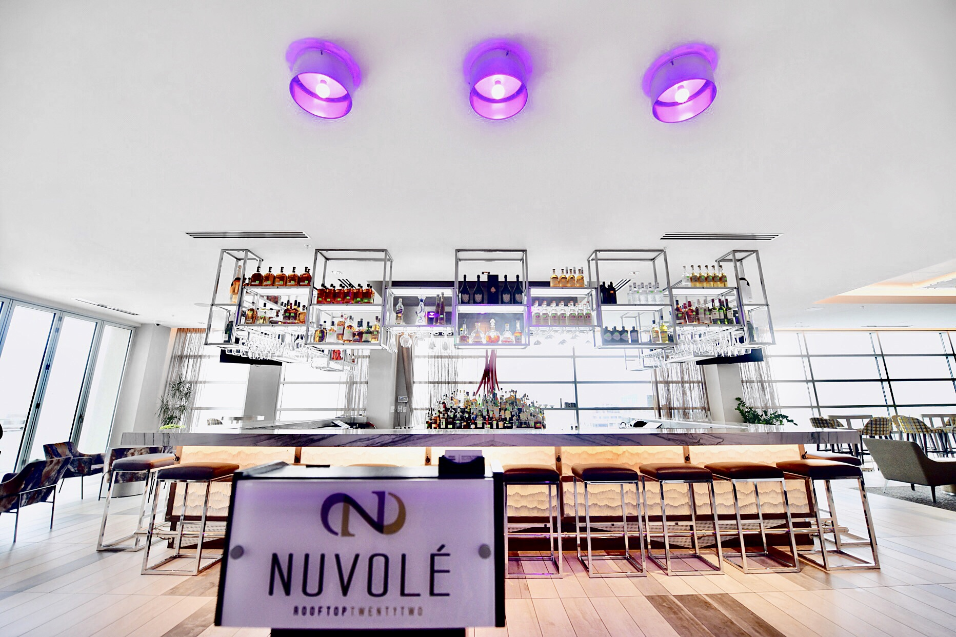 AC Hotel Charlotte, AC Hotel Marriott, Nuvole Rooftop Twenty two, Charlotte rooftop bar,