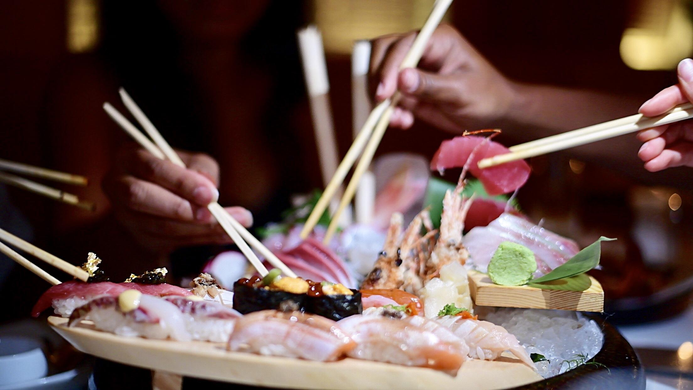 girls getaway guide, Katsuya SLS, best Japanese restaurant