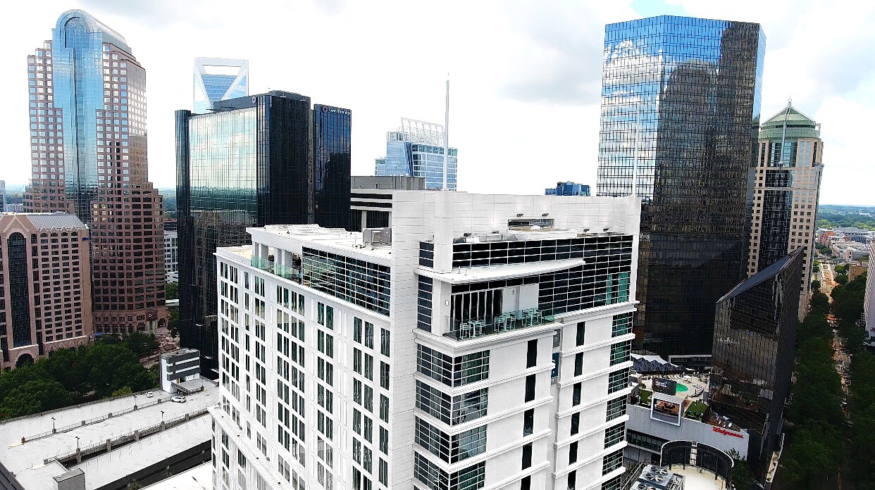 AC Hotel Charlotte, AC Hotel Marriott, AC Hotel, Nuvolé Rooftop Twenty Two views, Charlotte skyline, Charlotte city Center