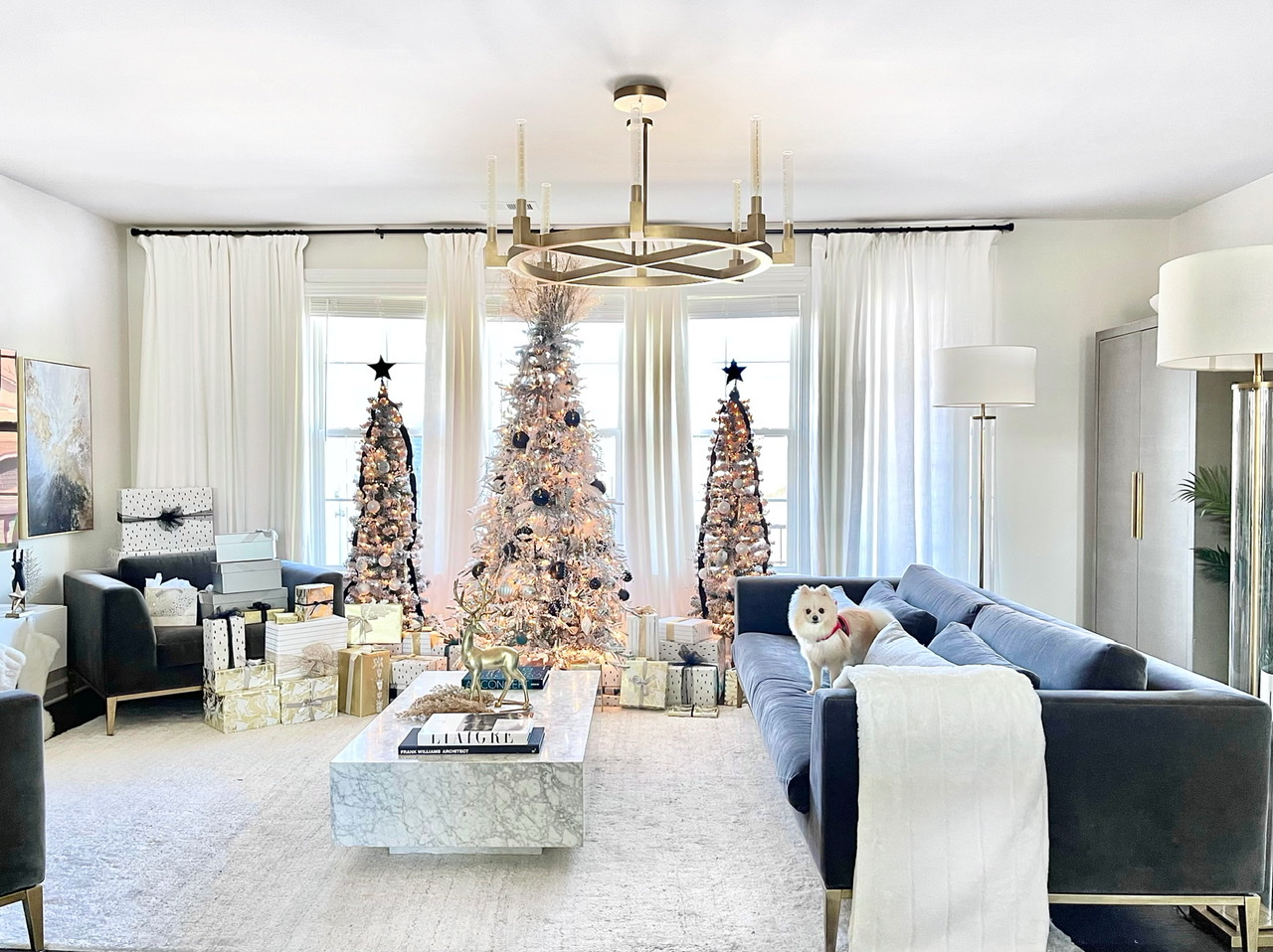 Modern Christmas tree, Christmas glam, modern Christmas glam, luxury Christmas