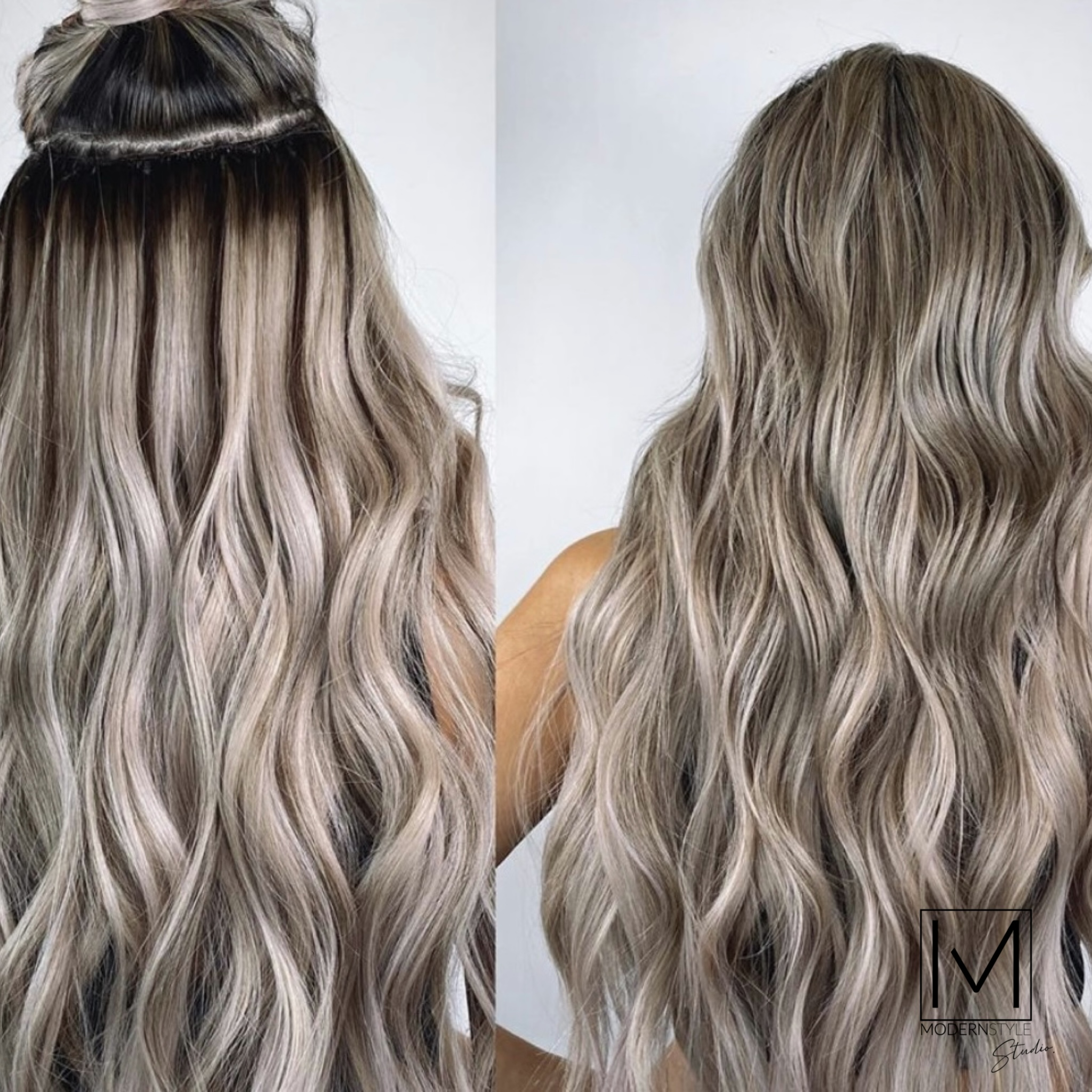 Best hair extensions in Charlotte, hand tied extensions near me, hair extensions near me, great lengths hair extensions, Olaplex stylist, sew in extensions Charlotte nc